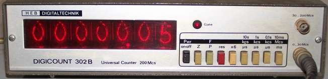 Frequenzzähler Digicount 302B
