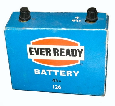 Ever Ready Batterie 126 für 4,5 Volt